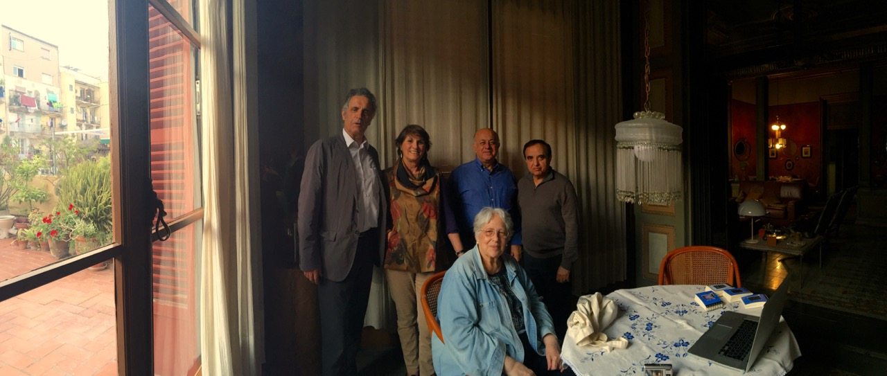 Toni Alsina, Ana Briongos, Behrooz Karimghovanbo, Ravi Khosla i Lluïsa Rubio.